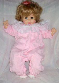 Horsman Life Size Softee Baby Girl Doll