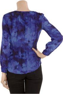 Rebecca Taylor Tie dye silk blouse
