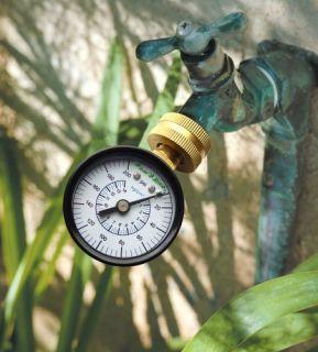 New Rain Bird P2A Water Pressure Gauge