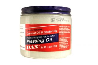 Dax Coconut Castor Oil Styling Hot Comb Pressing Oil 14 Oz
