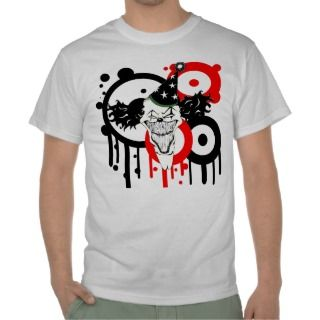 evil clown tee shirt