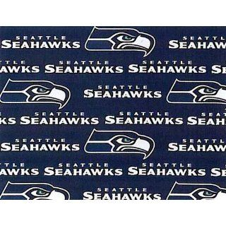 Cotton NFL Seattle Seahawks Football Print Cotton Fabric