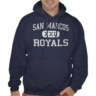 San Marcos   Royals   High   Santa Barbara Hoodies