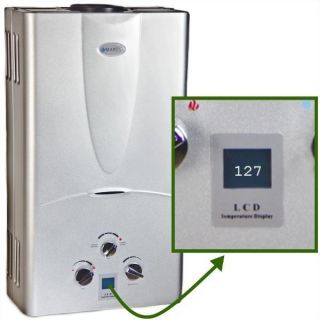 Propane Gas Tankless Hot Water Heater Whole House 3 1 GPM DIGITAL TEMP