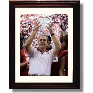 Framed Alabama Football Nick Saban 2011 National