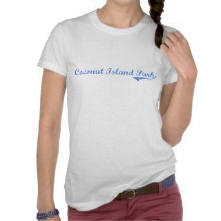 Coconut Island Park Hawaii Classic Design Tshirt