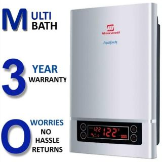 Electric Tankless Hot Water Heater Whole House 3 5 GPM 15KW New