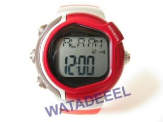 New Pulse Heart Rate Monitor Calories Counter Fitness Watch Red 12