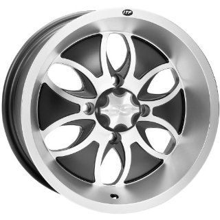 ITP System 6 Wheel   14x7   5+2 Offset   4/115   Machined/Black, Wheel
