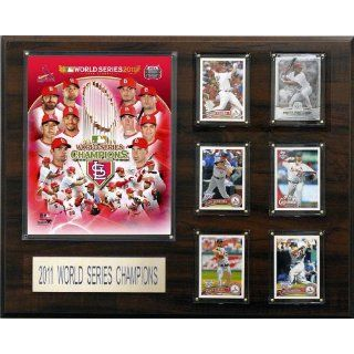 MLB St. Louis Cardinals 2011 World Series Champions 16 by