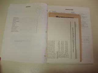 TR 2200A Transceiver Factory Service Operating Manuals Original