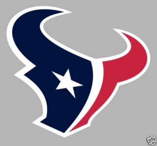 Houston Texans Logo Window Wall Sticker Vinyl Car Decal Any Colors