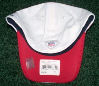 Houston Texans NFL Licensed Reebok White Sideline Flex Fit Hat L XL