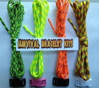 How to Make A Paracord Survival Bracelet Kit with Instructions and