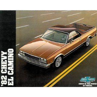 1982 Chevrolet Chevy El Camino Truck Sales Brochure