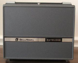 Vintage Bell Howell Silent 8mm Autoload Movie Projector 357B No Bulb