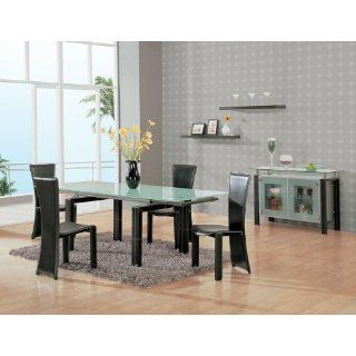 Global Furniture 017 Series Contemporary 5 Piece Dining