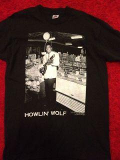 Vintage Howlin Wolf T Shirt 1991 Memphis Size L Blues