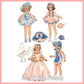 14 Mary Hoyer Toni Betsy McCall Vintage Doll Pattern Ballerina