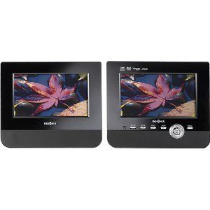 Insignia 7 Dual Screen Portable DVD Player NS D7PDVD