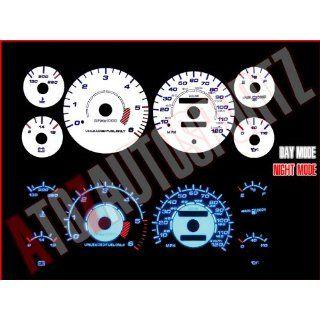 White 94 95 96 97 Dodge Ram 1500/2500 INDIGLO Glow Gauge
