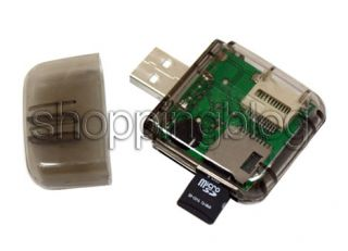 SDHC SD MMC Memory Card Reader to USB 2 0 Adapter for PC Laptop
