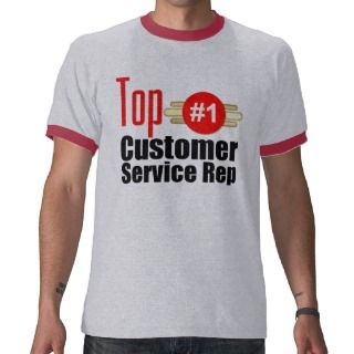 Top Customer Service Rep Shirt