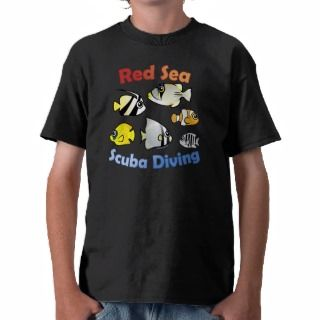 Red Sea Scuba Diving Tshirts