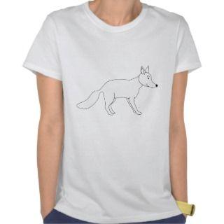 White Fox. Tee Shirts