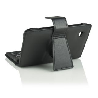 Keyboard Leather Case Stand for Samsung Galaxy P1000 7 inch Tablet PC