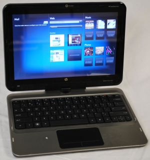 HP TouchSmart Tablet PC 12 1 1 33GHz 4GB RAM 500GB Drive Win 7 Model