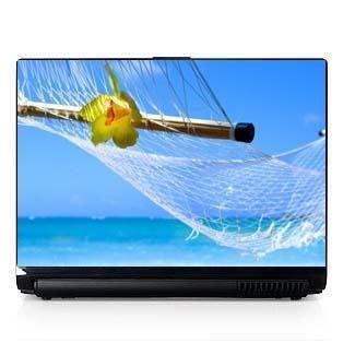 Laptop Computer Skin Dell PC HP Beach Peaceful Sun 357