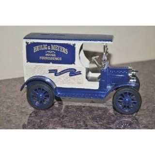 1912 Ford Model T Coin Bank   Die Cast Metal Everything
