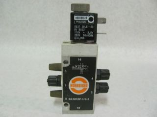 Hoerbiger S8581RF 1 8 2 Solenoid Valve Pneumatic Air 110 220V