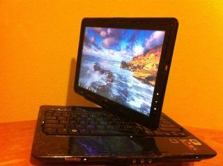 HP Tochsmart TX2 Tablet Touch Screen Web Camera Fingerprint DVD RW