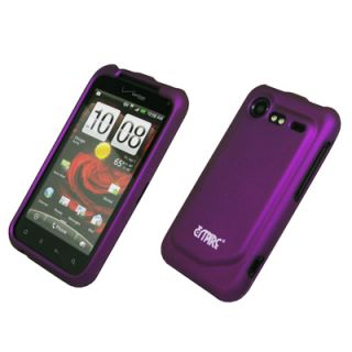 For HTC Droid Incredible 2 Purple Hard Case Cover