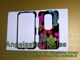 bling rhinestone crystal HTC Sprint EVO 3d phone case hard cover