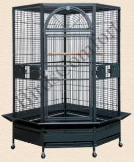 HQ Large Corner Bird Cage is ideal bird cage for