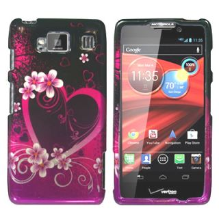 Hard Zebra Skin Case for HTC Droid Incredible 2 Phone