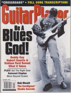 Magazine January 1999 Buddy Guy Hubert Sumlin Robben Ford