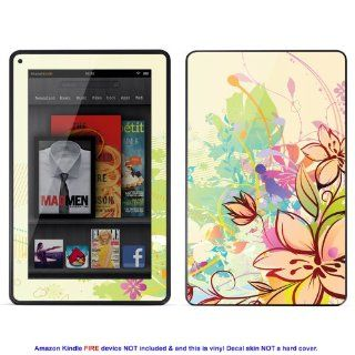 Skin sticker for  Kindle Fire case cover Kfire 103 Electronics