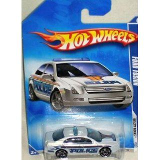 Hot Wheels 2010 109 Ford Fusion Police Car HW City Works