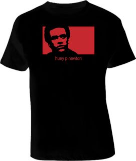 Huey P Newton Political Hip Hop T Shirt