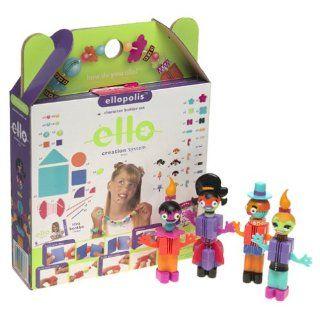 ello   Ellopolis   109 Pc Character builder set Toys