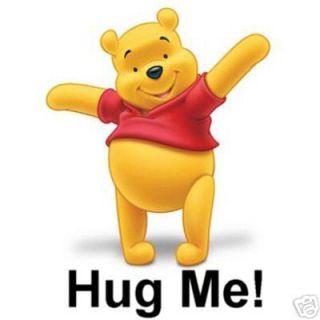 Winnie The Pooh Hug Me T Shirt Iron on Transfer 5x7