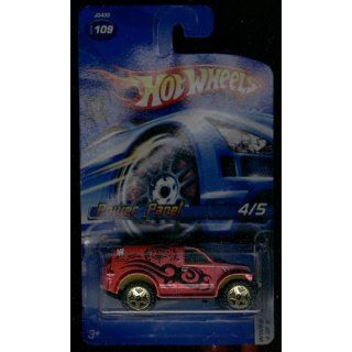 Hot Wheels 2006 109 Power Panel 4/5 WWE 4 of 5 164 Scale