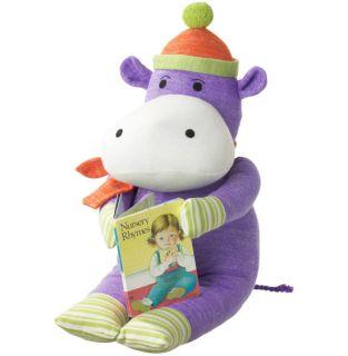 New Monkeez Stuffed Yarn Large Plush Toy Sock Hippo ☆