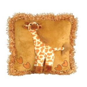 Giraffe Pillow Childrens Plush Huggable Pillow