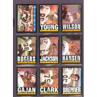 1985 Topps #107 George Rogers Saints (NM/MT) Collectibles