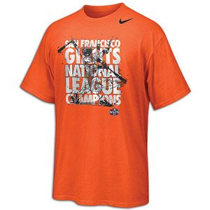 Nike MLB League Champions Celebration Shirt   Mens   Baseball   Fan